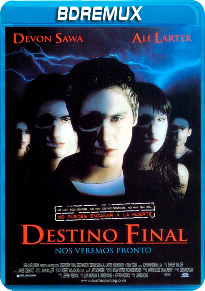DESTINO FINAL 1 [BDREMUX 1080P][AC3 5.1 CASTELLANO-DTS 5.1 INGLES+SUBS][ES-EN] torrent